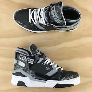 Converse ERX 260 Mid Top x Don C Black Grey White Leather Sneakers 163780C Size