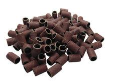 """100pc 1/4"""" 6.35Mm 120 Grit Drum Sanding Sleeves Wood, Metal, Nails, 4 Dremel etc"""