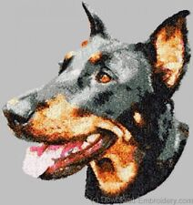 Large Embroidered Zippered Tote - Beauceron Dle1478