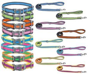 Pro Reflective Adjustable Dog Collar & Leashes Free Shipping