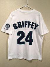 Vintage Seattle Mariners Ken Griffey Jr. #24 Men's M/L 90s SGA Jersey Shirt