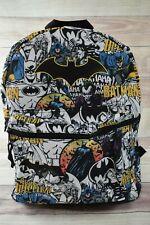 Batman Justice League DC Boys Girls Youth Kids Bookbag School Backpack