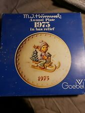 1975 Hummel 5th Annual Plate Goebel Germany With Original Box