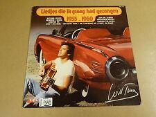 LP WITH CAR COVER / WILL TURA - LIEDJES DIE IK GRAAG HAD GEZONGEN 1955 - 1960