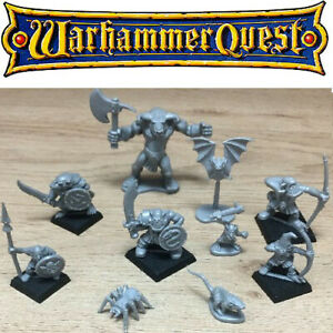 Classic Warhammer Quest Miniatures Figures Games Workshop 1995 Multi-Listing
