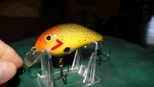 Vintage Fred Young Big O Lure Old Fishing Lures Crankbait Bass Bait Plug Wow