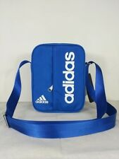 adidas performance linear small items organiser bag travel Satchel Blue