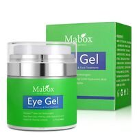 MABOX Hyaluronic Acid Repair Eye Serum Cream Plant Extract Gel Anti Dark Circles