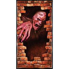 Halloween COUVERTURE DE PORTE fondant zombie à travers le mur