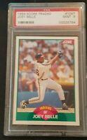 Joey Belle - Albert Belle 1989 Score Traded #106T PSA 9