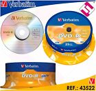 VERBATIM DVD-R 4,7 GB 16 X TARRINA 25 UNIDADES BOBINA 43522 LOTE LIQUIDACION