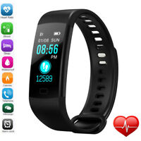 Sports  Heart Rate Blood Pressure Oxygen Fitness Smart Watch Wrist Band Bracelet