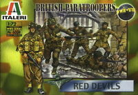 Italeri 1/72 6034 WWII British Paratroopers Red Devils (50 Figures, 15 Poses)