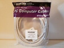 EVNPS05-0025-FF Black Box VGA Video Extension Cable Female/Female 25 ft NEW