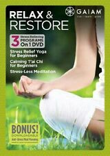 Relax and Restore New DVD