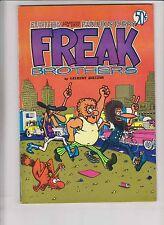Freak Brothers #2 VF- (2nd) rip off press - gilbert shelton - blue version