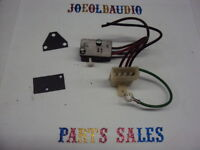 BSR C116/H/2 Turntable Original AC Switch Assembly Tested Parting Out BSR C116