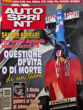 Autosprint n°47 1996 Sauber Ferrari Nicola Larini Johnny Herbert  [P14]