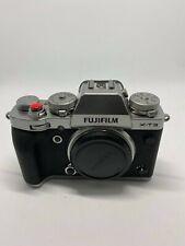 Fujifilm Fuji X-T3 26.1MP Mirrorless Digital Camera Body (Silver)