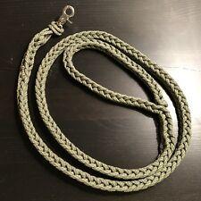 Paracord Dog Leash 6' FEET Finger Square Knit 550 USA Custom Colors! TJPARACORD