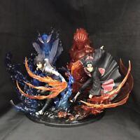 """23 cm Anime Naruto0 Uchiha Itachi Fire Sasuke Susanoo PVC Figure Model Toy 9"""""""