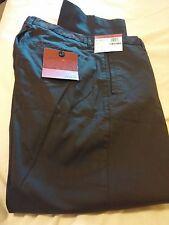 NWT ALFANI, Flat Front, Slim Fit, Men's Espresso Dress Pants 34 x 30,