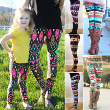 Mother Daughter Women Girls Warm Trousers Snowflake Reindeer Leggings Pants Nice