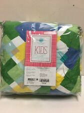 Martha Stewart KIDS Full/Queen Flannel Comforter Cover, NIP