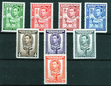 Somaliland [face to left] 1938 KGVI part set Cat £80 [S2005]