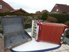 Hohner Verdi III 3 Akkordeon ( Accordion, fisarmonica, Acordeon) in rot,120 Bass