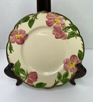 "Antique Franciscan Desert Rose Salad Lunch Plate 8""1940-1947 Mark EXCELLENT USED"