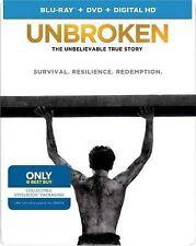 Unbroken (Blu-ray/DVD, Includes Digital Copy; Steelbook;
