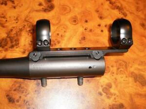 Blaser R93 R8 LRS 2 K95 S2 Light Fixed 100% Steel Saddle Mount with Rings