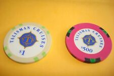 Talisman Cruises - $ 500  & $ 1.00 Casino Chips