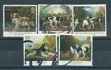 I051) Great Britain. 1991. Used. SG 1531/32/33/34/350. Dog Breeds