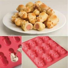 Blanket Pigs in Baking Silicone Mold Little a Mobi 12