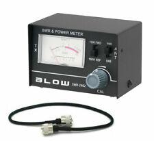 SWR-2462 SWR / WATT Meter 1,5 - 150 MHz /  0-10W / 0-100W + SWR Kabel H155