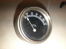 unidenified prewar or brass era automobile oil pressure gauge rare Bentley Rolls