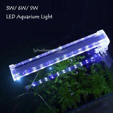 Aquarium LED Light Clip On Fish Tank Plant Grow Lighting Lamp Decor 5.9-11.4''