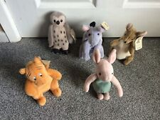 Bundle 5  Disney Classic Pooh Characters Beanie Soft Toys BNWT