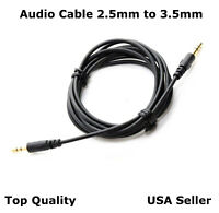 5FT 2.5mm - 3.5mm  Audio Cable Cord  Aux for Bose 700 Free Fast Shipping