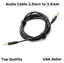 5FT 2.5mm - 3.5mm  Audio Cable Cord  Aux for Bose QuietComfort QC 35 Series I II