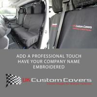 CITROEN DISPATCH 2016 + TAILORED FRONT SEAT COVERS INC EMBROIDERY 294 BEM