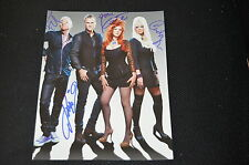 THE B-52'S signed Autogramm In Person 20x25 cm komplette Band LOVE SHACK rar!!