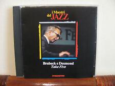 BRUBECK-DESMOND take five -CD-Maestri del Jazz-De Agostini-fino 2 cd spese fiss