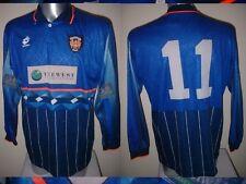 Blackpool Player MATCHWORN SHIRT JERSEY FOOTBAL CALCIO 97 LOTTO adulto XL Player