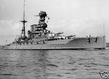 Royal Navy HMS Barham World War 2, 7x5 inch' Photo Reprint