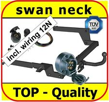 Towbar & Electric 12n Renault Laguna Grandtour II Estate 2001 to 2007 Swan Neck
