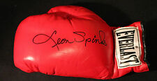 LEON SPINKS  Autograph Signed Everlast Boxing Glove