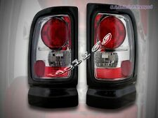 1994-2001 Dodge Ram 1500 2500 3500 Tail Lights Smoke 95 96 97 1998 1999 2000